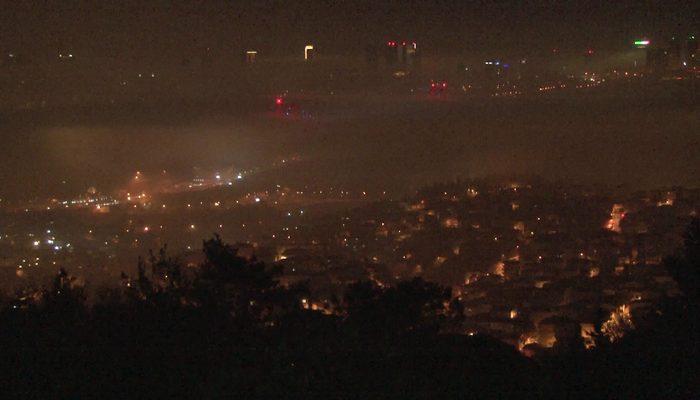 Yoğun sis şehri kapladı! İstanbul'da göz gözü görmüyor!