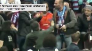 Trabzonspor - Fenerbahçe maçında Nani'nin formasını alan Trabzonspor taraftarının yaşadıkları
