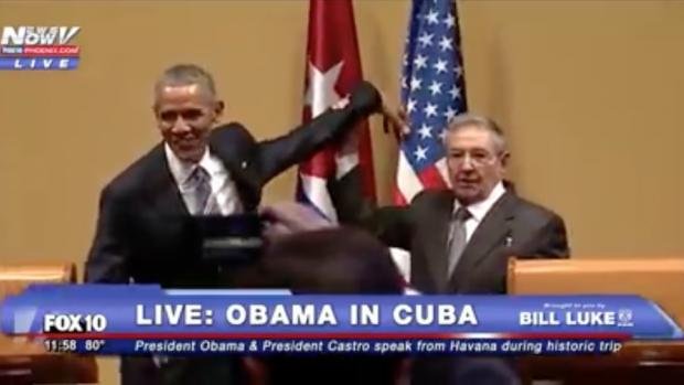 Raul Castro'dan Obama'ya İndir O Eli