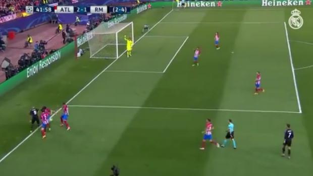 Benzema, Atletico Madrid defansını ipe dizdi