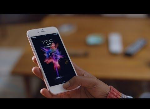 Apple iPhone 6S Parmak İzi Reklamı