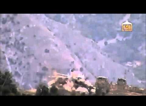 Taliban, Afganistan helikopterini düşürdü.