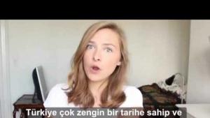 Danimarka'lı kızın Türkiye hakkındaki görüşleri