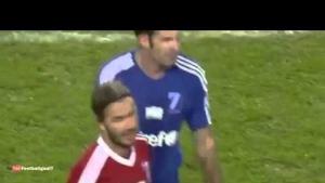 David Beckham Çıkıyor Oğlu Giriyor