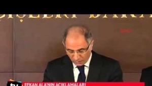 Efkan Ala canlı bombanın kimliğini açıkladı.