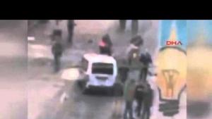 Taksim Patlama Sonrası Amatör Kamera